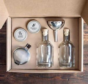 W&P MAS-GINKIT Homemade Gin Kit, Make Your Own Kit, Botanical Blend and Juniper Berries, Home Kit, Kitchen Essentials