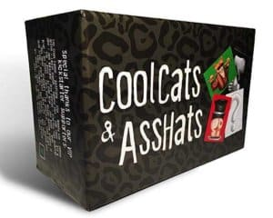 CoolCats & AssHats - Adult Drinking Card Game for Parties