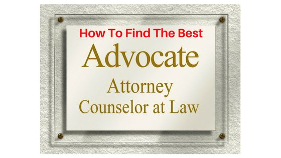 Info On How To Choose Best Lawyer