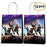 Fortnite Bags Goody Favor Gift Bags For Kids Adults Fortnite Birthday Party Game Party Supplies Favors.
