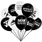 Fortnite Latex Balloons Fortnite Birthday Party Supplies Decoration, Kids Double-side Designs 12 Inches 50 PACK. Gifts for gamers that like Fortnite!
