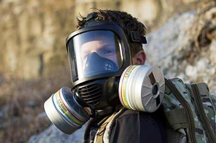 CBRN Gas Mask by MIRA Safety |CM-6M| Military Grade Full Face Respirator with Drinking Tube and Canteen - Protection for NBC, Hazmat, Chemical, Biological, Radiation, and Nuclear Warfare Agents
