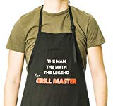 Funny Guy Mugs Grill Master Apron, Black