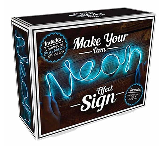 Make Your Own Neon Effect Sign 3M Neon String Light Message Kit (Pink)