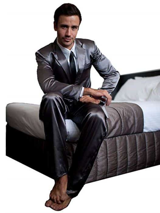 Love these Silk Suit Pajamas