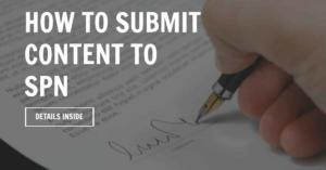 Submit content to SPN