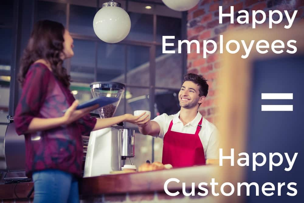 Happy Employees Create Happy Customers