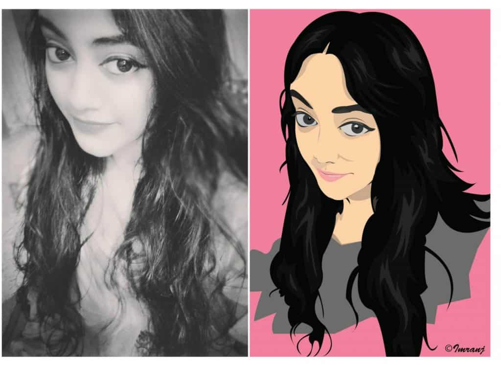 Hello #SPN family, want to convert your photo in to a vector cartoon portrait for your social media