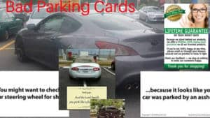 Buy Bad Parking Cards