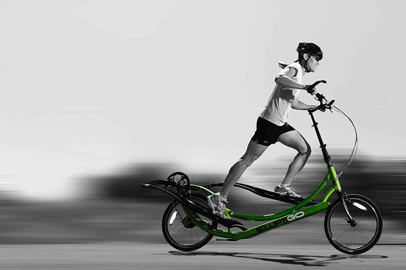 ElliptiGO 8C - The World's First Outdoor Elliptical Bike (Black)