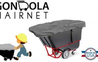Gondola Hairnet – Flexible tilt-dumpster covers
