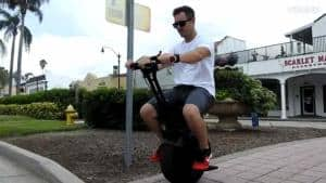SUPERRIDE Self-Balancing Electric Unicycle