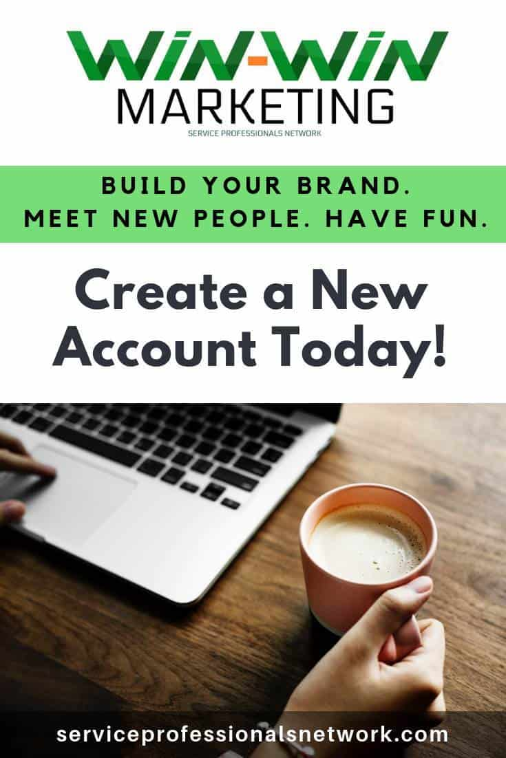 Create a FREE #SPN account https://www.serviceprofessionalsnetwork.com/register to build our brand an