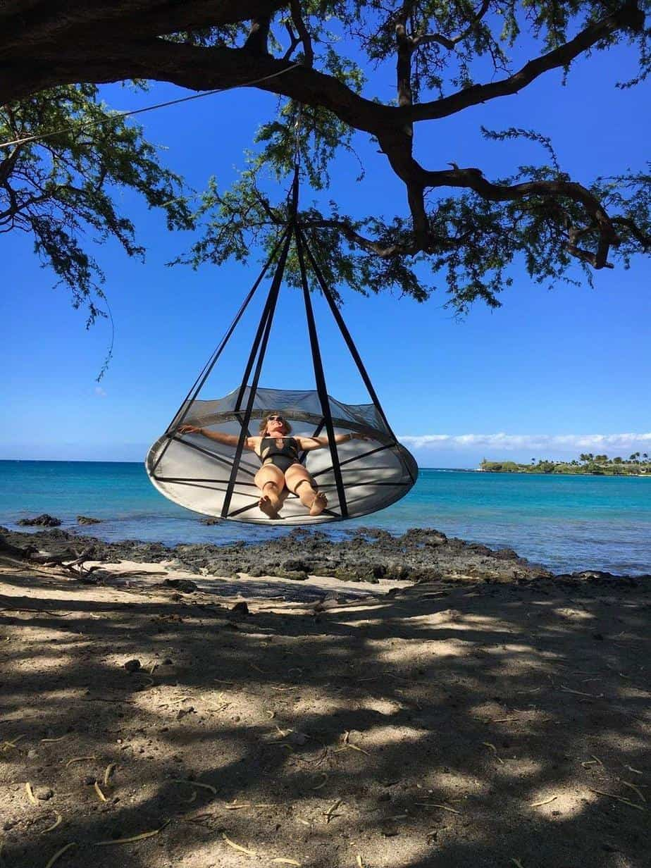 Flying Saucer Swinging Hammock