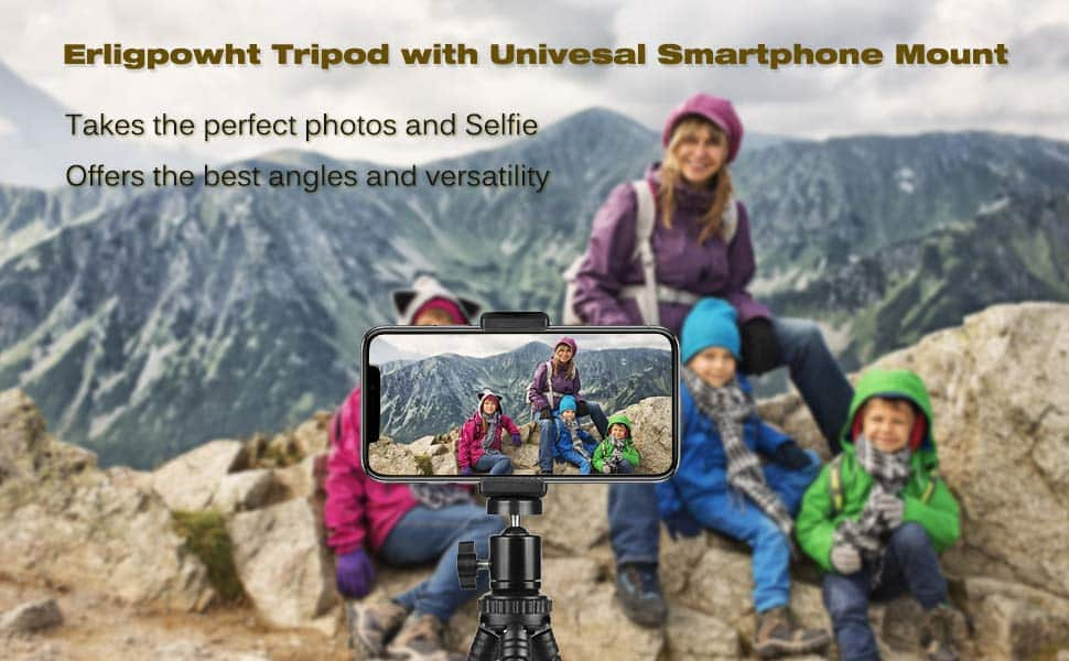 Erligpowht Tripod with Universal Mount