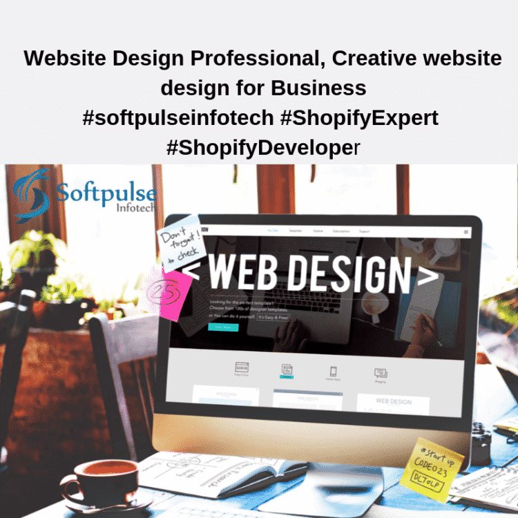 Be remembered! You never get a second chance to make a first impression. Design your business websit