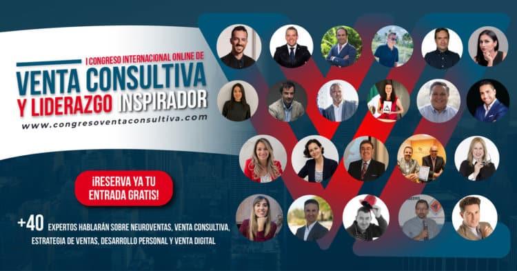 1er. Congreso Internacional Online de Venta Consultiva y Liderazgo Inspirador Regístrate Gratis aqu