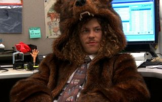 Workaholics: Official Bear Coat