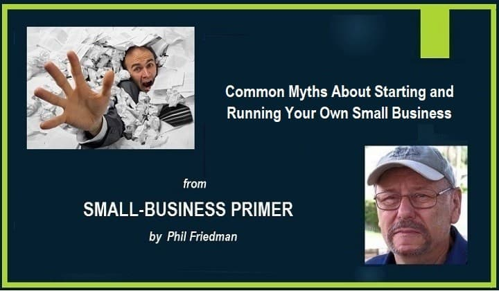 Myths About Start A Small Business