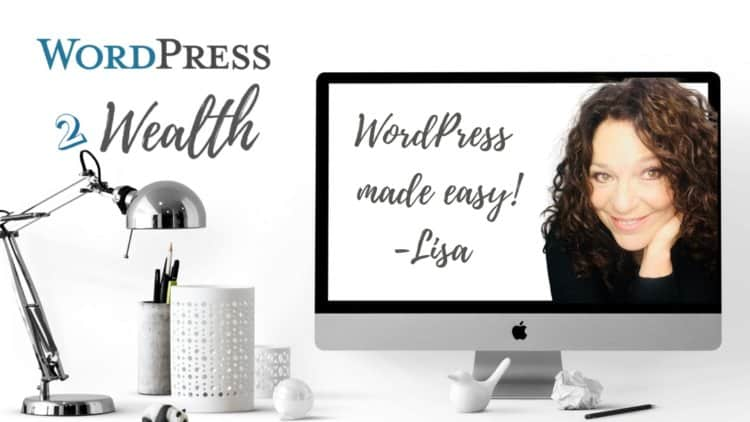 wordpresstowealth.com Launching this fall! Learn WordPress Online312