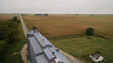 Nice view from the top of my grain elevator in southern Minnesota. IMG_20170921_100342008