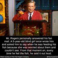 Be like Fred